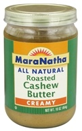 MaraNatha - Roasted Cashew Butter Creamy - 16 oz.