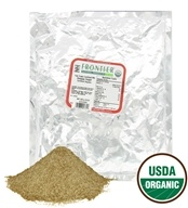 Frontier Natural Products - Certified Organic Snappy Sugar - 1 lb.