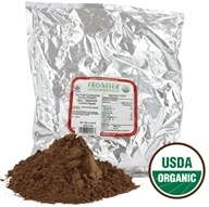 Frontier Natural Products - Certified Organic Cocoa Powder Non Alkalized - 1 lb. - $20.78