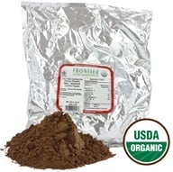 Image of Frontier Natural Products - Certified Organic Cocoa Powder Non Alkalized - 1 lb.