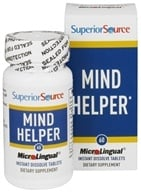 Superior Source - Mind Helper Instant Dissolve - 60 Tablets (076635901906)
