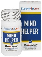 Superior Source - Mind Helper Instant Dissolve - 60 Tablets - $7.99