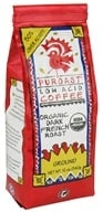 Puroast - Organic Ground Low Acid Coffee Dark French Roast - 12 oz. by Puroast