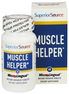 Superior Source - Muscle Helper Instant Dissolve - 60 Tablets, from category: Herbs