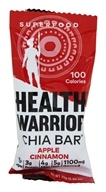 Health Warrior - Chia Bar Apple Cinnamon - 0.88 oz.