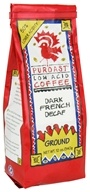 Puroast - Ground Low Acid Coffee Dark French Decaf - 12 oz.