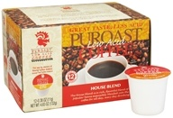 Puroast - Ground Low Acid Coffee House Blend - 4.65 oz. by Puroast
