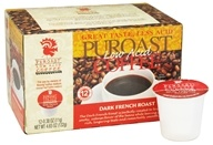Puroast - Ground Low Acid Coffee Dark French Roast - 4.65 oz. (732148100006)
