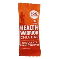 Health Warrior - Chia Bar Chocolate Peanut Butter - 0.88 oz., from category: Health Foods