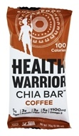 Health Warrior - Chia Bar Coffee - 0.88 oz. by Health Warrior