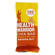 Health Warrior - Superfood Chia Bar Banana Nut - 0.88 oz.