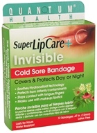 Image of Quantum Health - Super Lipcare+ Invisible Cold Sore Bandage - 12 Bandage(s)