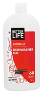 Better Life - Naturally Crumb-Crushing Dishwasher Gel 60 Loads - 30 oz. Formerly Automatic Magic Ultra Concentrated