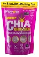 New York Superfoods - Chia Charger Cranberry - 10 Individually Wrapped Bites (853439004008)