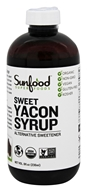 Image of Sunfood Superfoods - Sweet Yacon Syrup Organic - 8 oz.