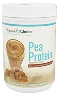 Pea Protein Natural Chocolate - 1.1 lbs. by Prescribed Choice