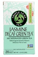 Triple Leaf Tea - Jasmine Decaf Green Tea - 20 Tea Bags