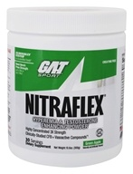 Image of GAT - Nitraflex Hyperemia & Testosterone Enhancing PWD Original 30 Servings - 300 Grams Formerly German American Technologies