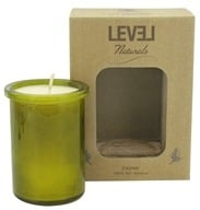 Level Naturals - Soy Candle Cedar - 6 oz., from category: Aromatherapy