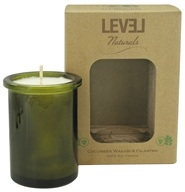Level Naturals - Soy Candle Cucumber Wasabi & Cilantro - 6 oz. by Level Naturals