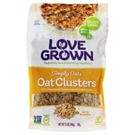Love Grown Foods - Oat Clusters Toasted Granola Simply Oats - 12 oz.