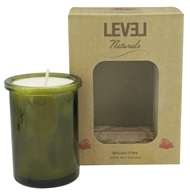 Level Naturals - Soy Candle Brush Fire - 6 oz., from category: Aromatherapy