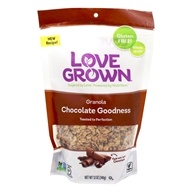 Love Grown Foods - Oat Clusters Toasted Granola Cocoa Goodness - 12 oz. by Love Grown Foods