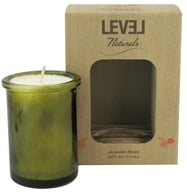 Level Naturals - Soy Candle Jasmine Rose - 6 oz.