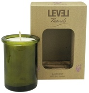 Level Naturals - Soy Candle Lavender - 6 oz., from category: Aromatherapy