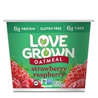 Love Grown Foods - Hot Oats Strawberry Raspberry - 2.22 oz.