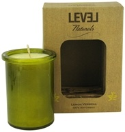 Level Naturals - Soy Candle Lemon Verbena - 6 oz. by Level Naturals