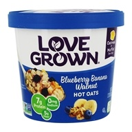 Love Grown Foods - Hot Oats Blueberry Banana Walnut - 2.22 oz.