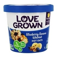 Love Grown Foods - Hot Oats Blueberry Banana Walnut - 2.22 oz. by Love Grown Foods