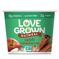 Love Grown Foods - Hot Oats Apple Cinnamon - 2.22 oz., from category: Health Foods