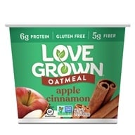Love Grown Foods - Hot Oats Apple Cinnamon - 2.22 oz. by Love Grown Foods
