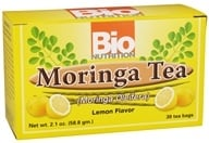 Bio Nutrition - Moringa Tea Lemon Flavor - 30 Tea Bags by Bio Nutrition
