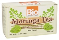 Bio Nutrition - Moringa Tea Mint Flavor - 30 Tea Bags by Bio Nutrition