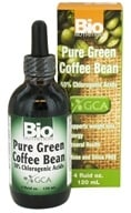 Image of Bio Nutrition - Pure Green Coffee Bean Liquid 400 mg. - 4 oz.