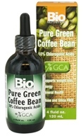 Bio Nutrition - Pure Green Coffee Bean Liquid 400 mg. - 4 oz., from category: Diet & Weight Loss