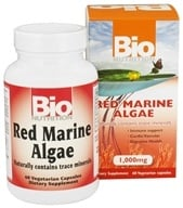 Bio Nutrition - Red Marine Algae 1000 mg. - 60 Vegetarian Capsules