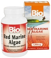 Bio Nutrition - Red Marine Algae 1000 mg. - 60 Vegetarian Capsules - $10.15