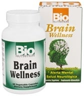 Bio Nutrition - Brain Wellness - 60 Vegetarian Capsules - $17.47