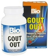 Bio Nutrition - Gout Out - 60 Vegetarian Capsules