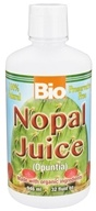 Bio Nutrition - 100% Natural Nopal Juice - 32 oz.