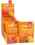 Ener-C - Vitamin C Effervescent Powdered Drink Mix Orange 1000 mg. - 30 Packet(s), from category: Vitamins & Minerals