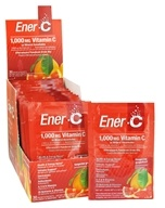 Ener-C - Vitamin C Effervescent Powdered Drink Mix Tangerine Grapefruit 1000 mg. - 30 Packet(s) - $12.25