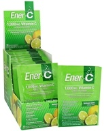 Ener-C - Vitamin C Effervescent Powdered Drink Mix Lemon Lime 1000 mg. - 30 Packet(s) (873024001014)