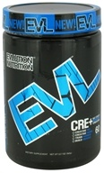 Image of EVL Nutrition - CRE+ Maximum Strength Creatine 60 Servings Blue Raz - 12.7 oz.