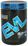 EVL Nutrition - GLU+ Enhanced Glutamine 45 Servings Blue Raz - 10.3 oz. (852665240624)