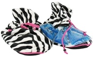 Soothera - Spa Slippers with Thermal Gel Beads Zebra - $22.86